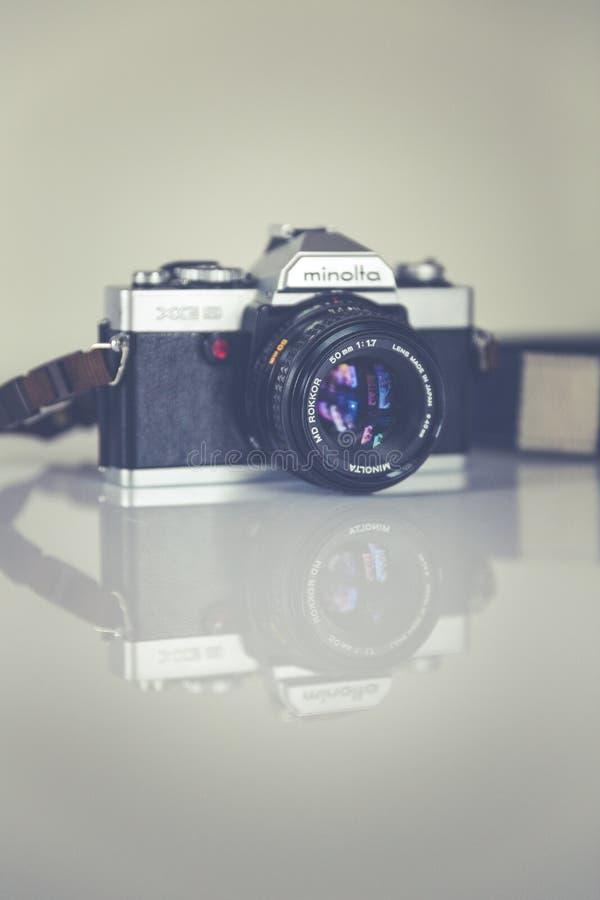 Silver Minolta Dslr Camera Free Public Domain Cc0 Image