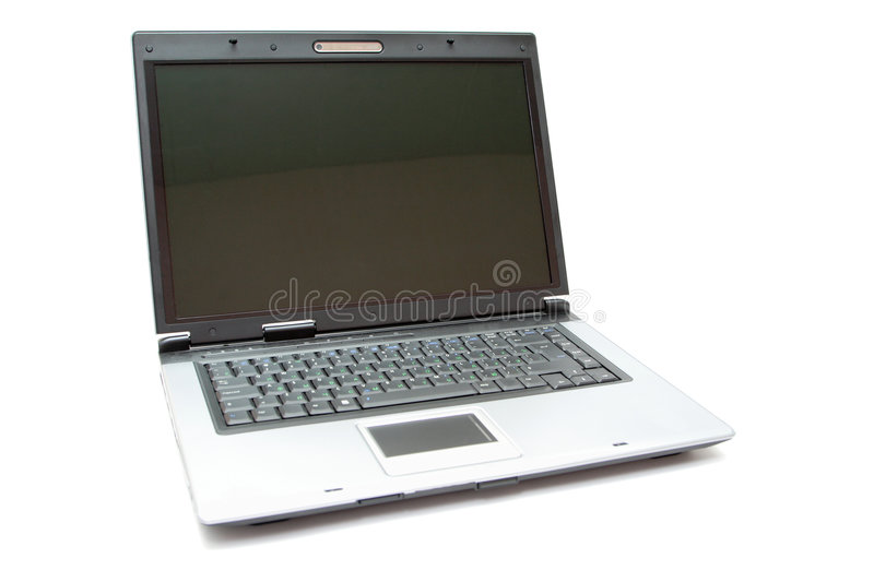 Download Silver notebook stock photo. Image of white, tool, technology - 6001024