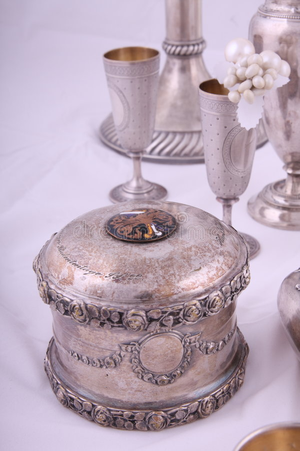 Download Silver Objects Stock Photography - Image: 6957352