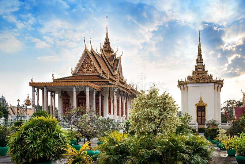 Silver Pagoda,Royal Palace,Phnom Penh,Cambodia royalty free stock photo