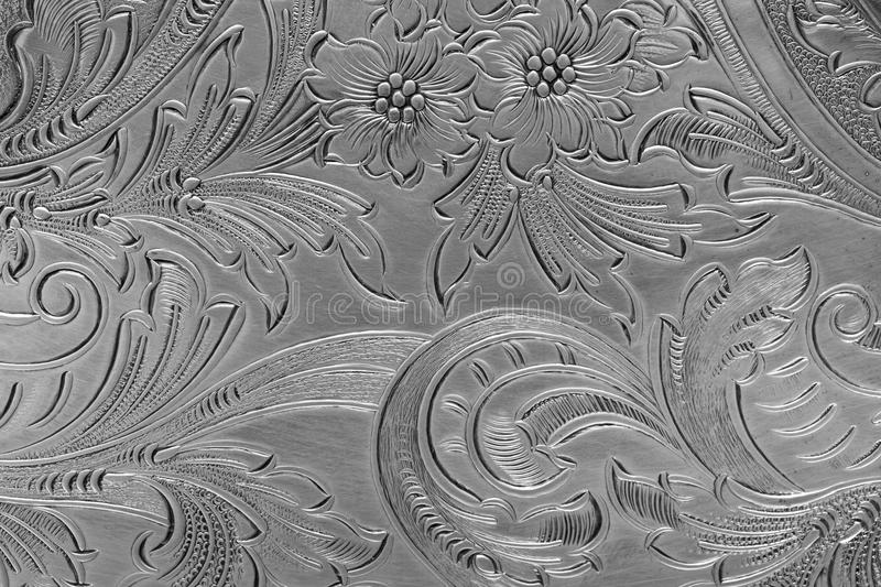 Download Silver pattern stock photo. Image of tray, etched, background - 22166586