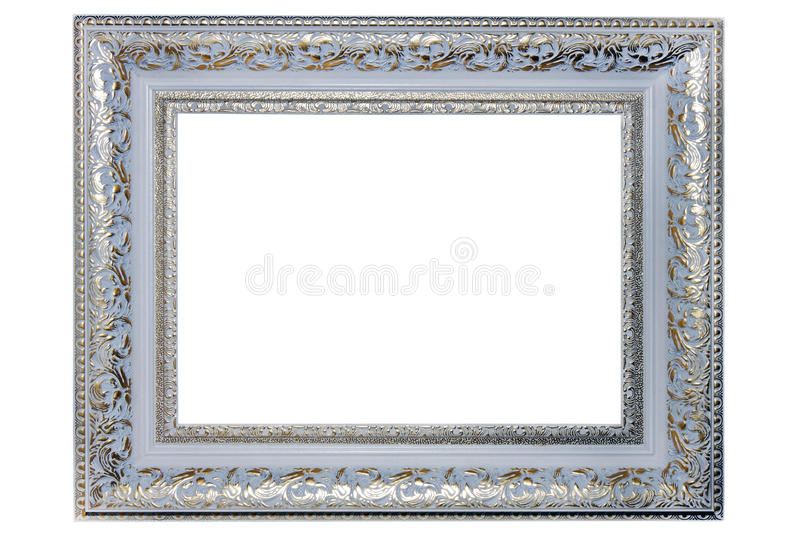 Download Silver picture  frame stock image. Image of decorative - 27100477