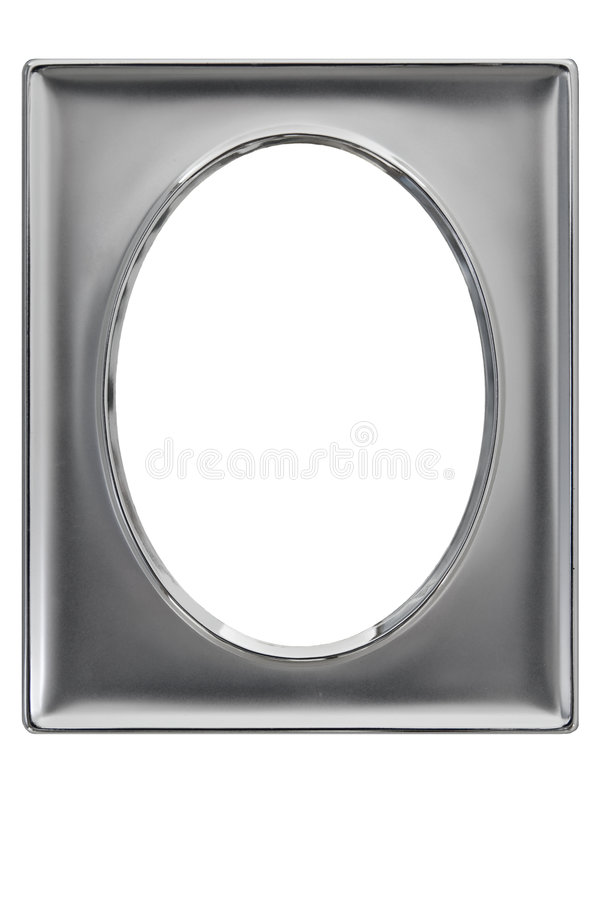 Free Silver Plated Photo Frame Royalty Free Stock Images - 5292979