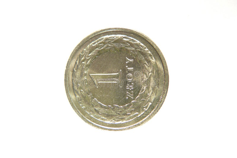 Download Silver polish coin stock photo. Image of coin, savings - 7389362