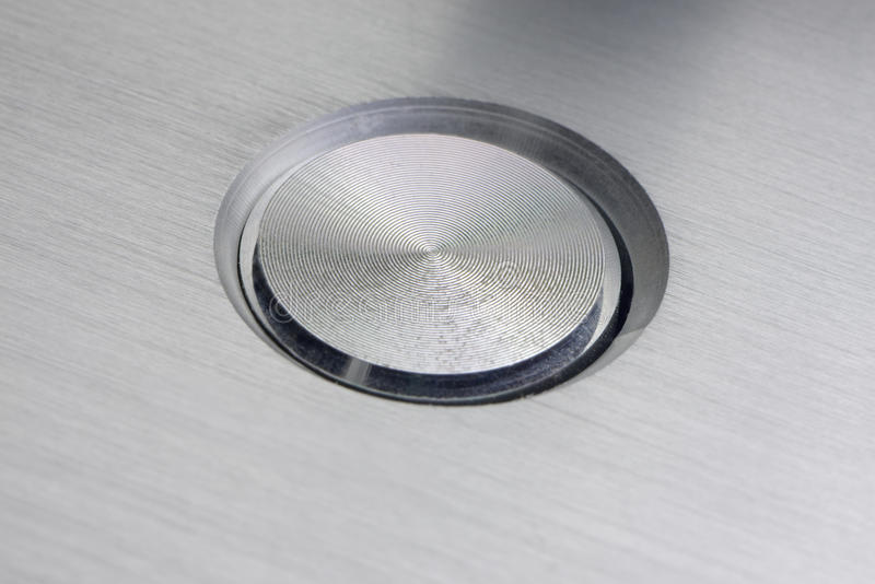 Download Silver Push Button stock image. Image of electronic, metal - 28381211