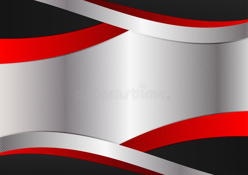 Wallpaper Background Silver Red Black Stock Illustrations 3 890