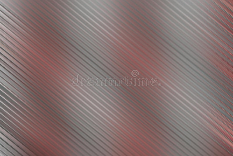 Silver and red in motion blur royalty free illustration