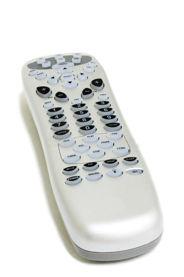 Silver remote royalty free stock photo