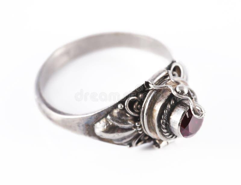 Download Silver ring stock image. Image of precious, knack, macro - 23135757