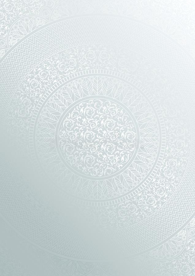 Detailed Mandala Design Stock Illustration Illustration border=