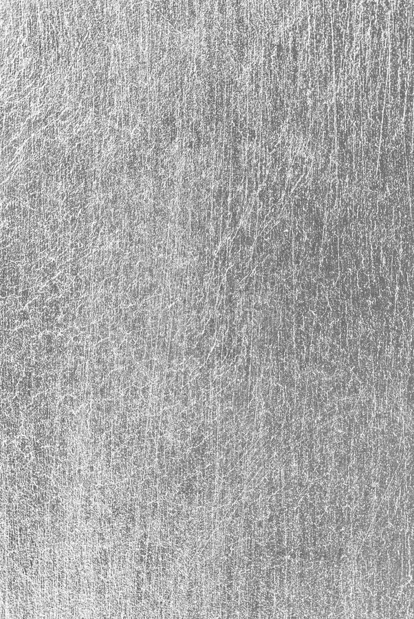 Silver scratched texture stock images