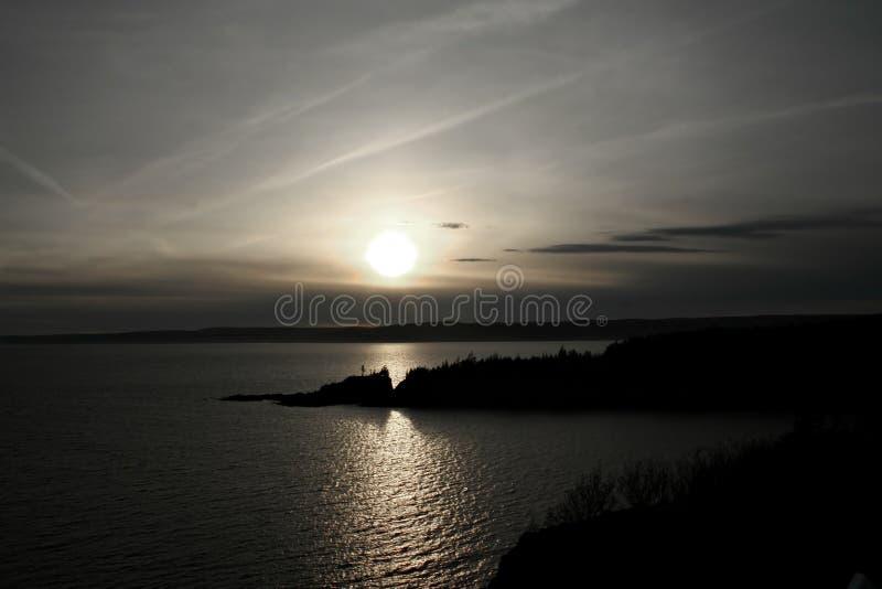 Download Silver Sea stock image. Image of horizon, gray, sunset - 2311017