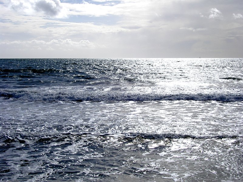 Download Silver Sea stock photo. Image of beach, holidays, nature - 29882