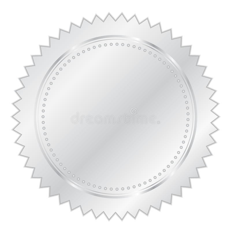 Free Silver Seal Stock Image - 23247061