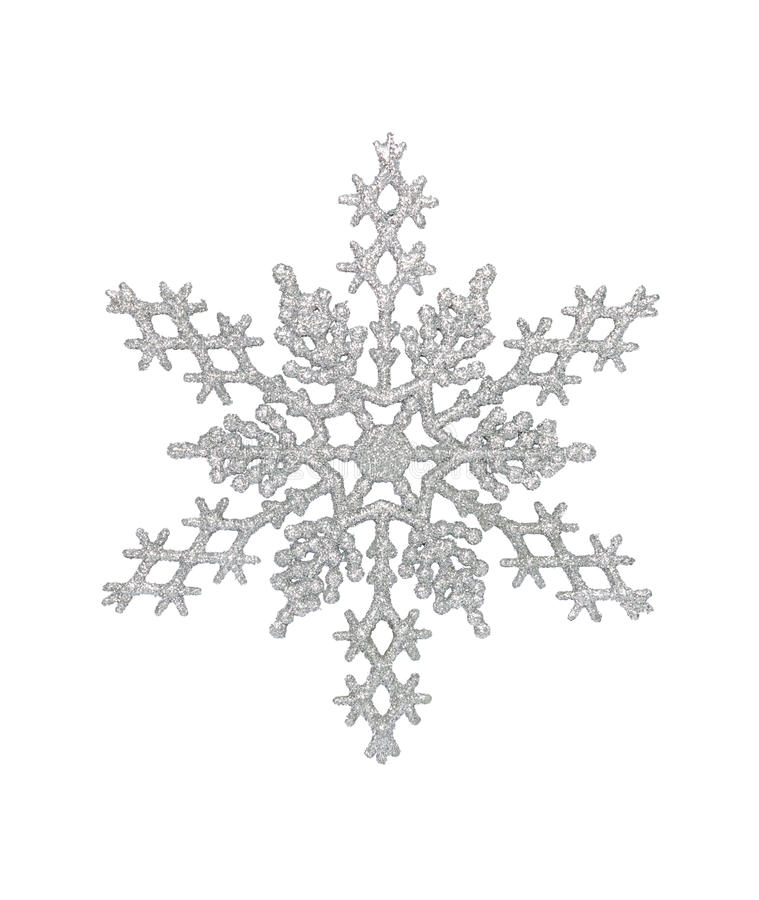 Free Silver Snowflake Royalty Free Stock Photo - 21439935