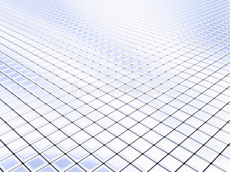 Download Silver squares stock illustration. Image of reflect, chrome - 357525
