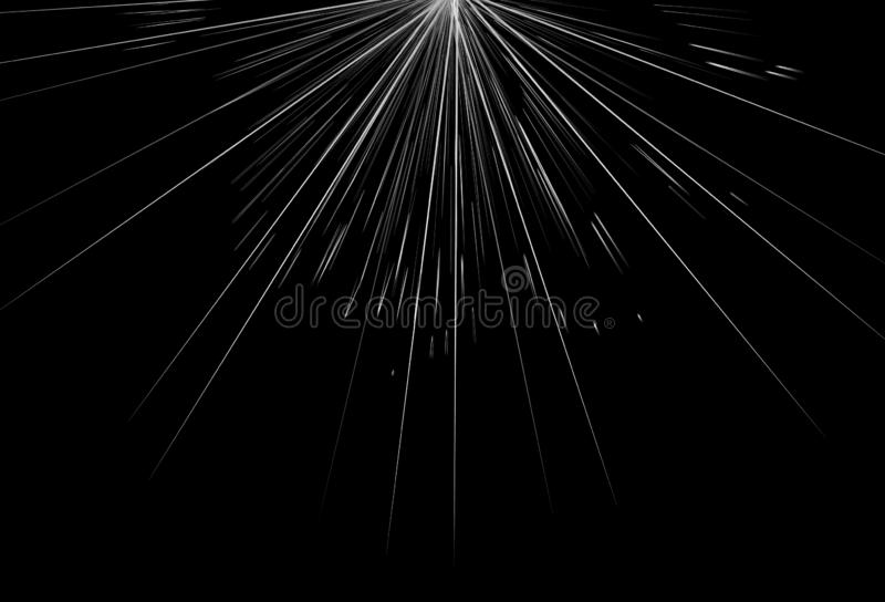 Silver stars burst, light rays and lines glowing abstract background vector illustration vector illustration