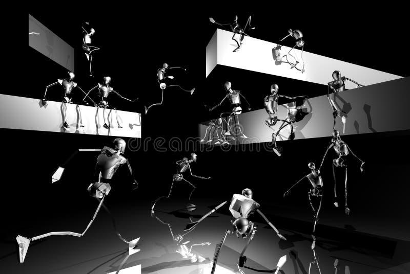 Download Silver Stick Men Playing Stock Photos - Image: 1334403