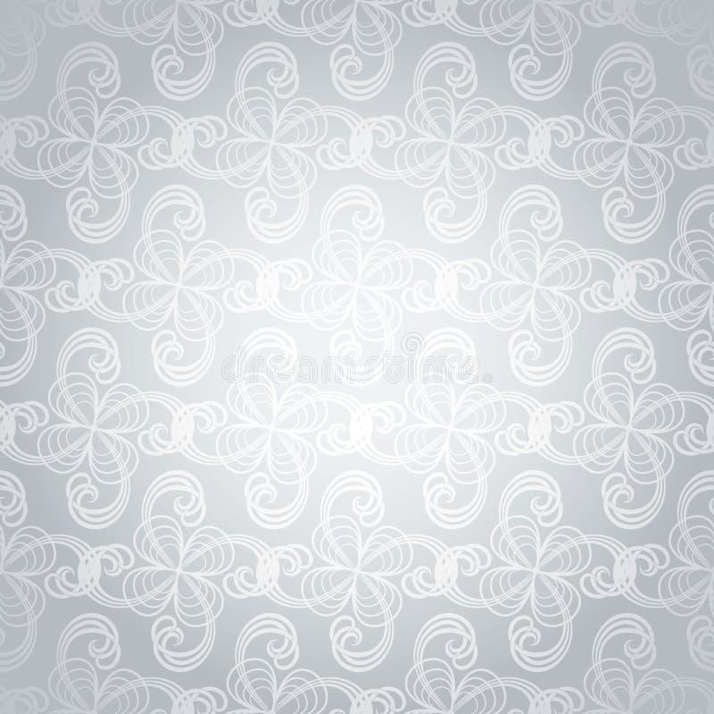 Download Silver swirl overlap stock vector. Illustration of white - 8285458