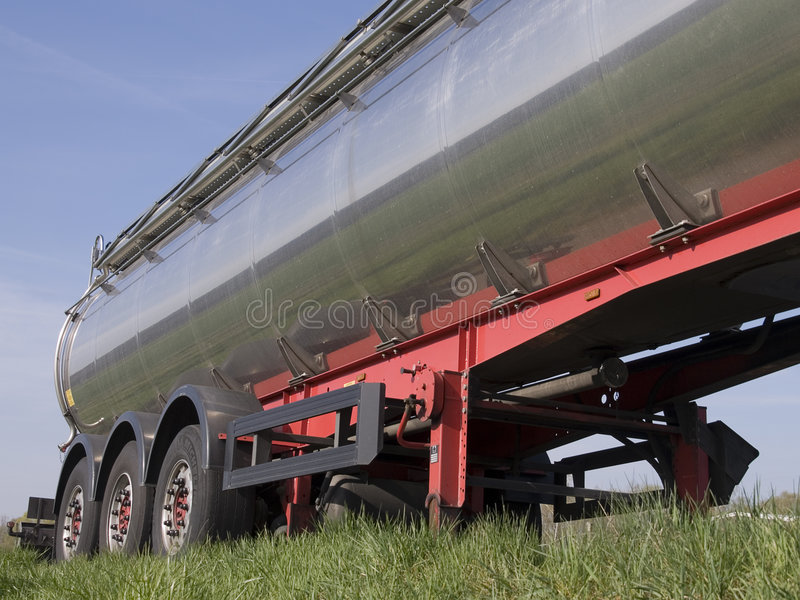 Download Silver Tanker Stock Photo - Image: 2252730