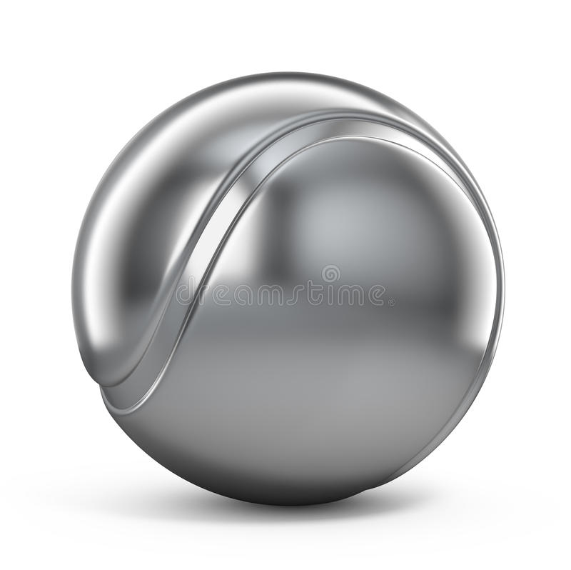 Download Silver Tennis ball stock illustration. Illustration of winner - 25897273