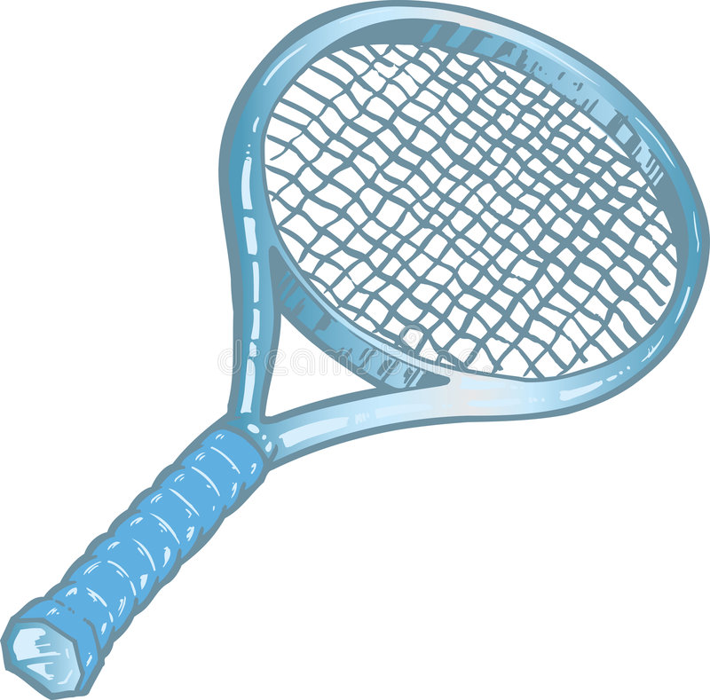 Download Silver Tennis Racket Illustration Stock Images - Image: 8797514