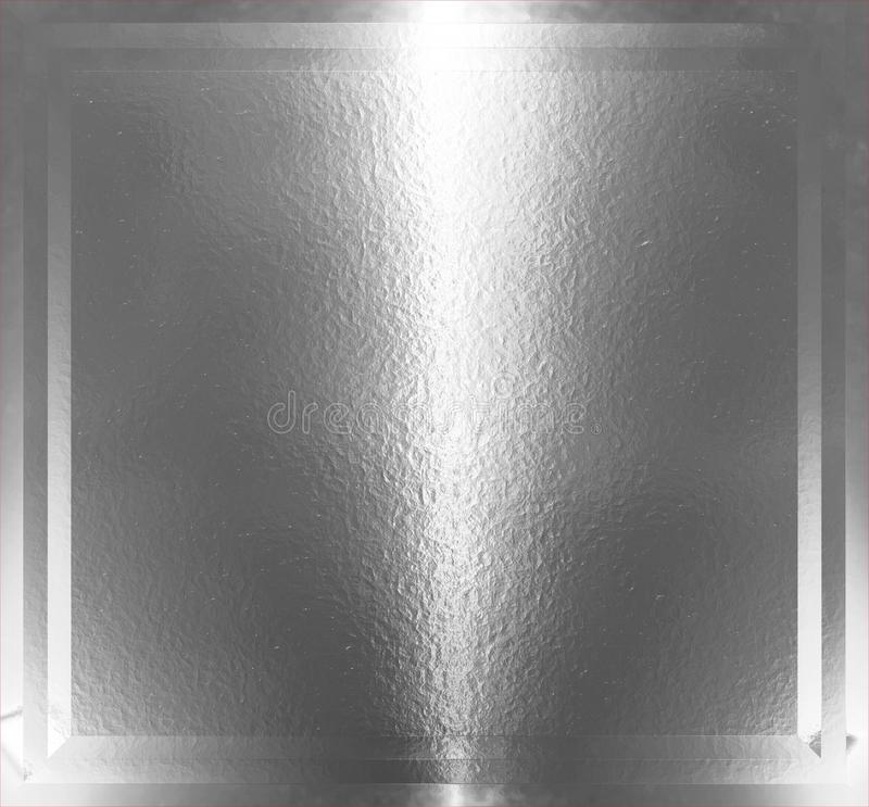 Silver texture royalty free illustration