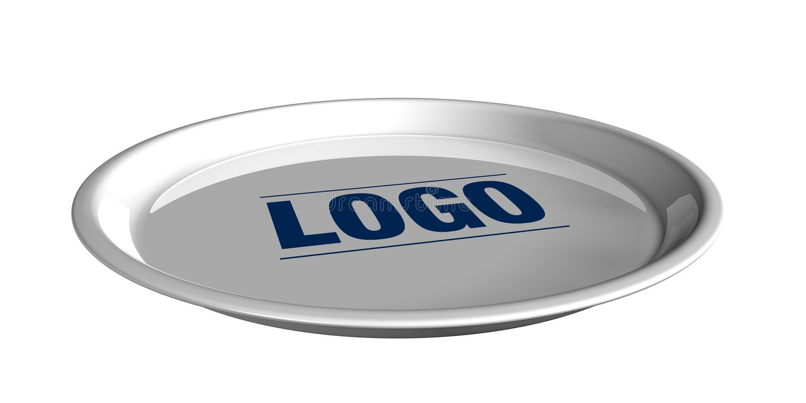 Download Silver Tray Service Royalty Free Stock Image - Image: 6282036