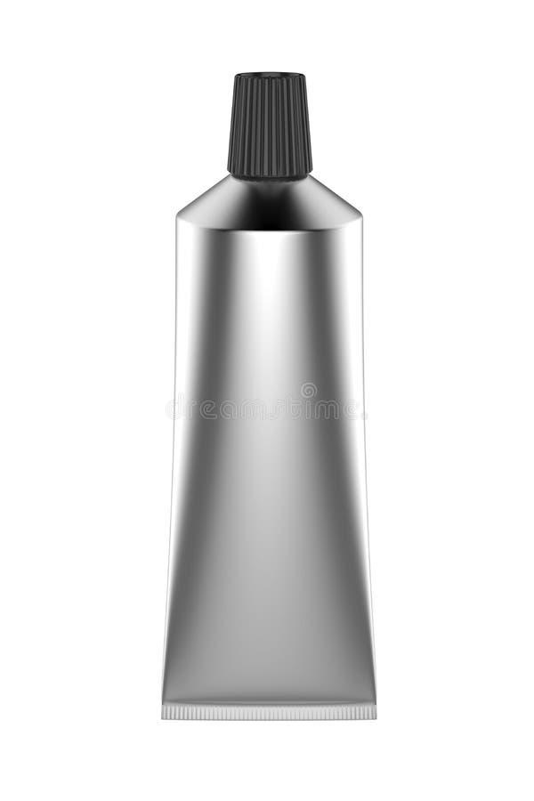 Silver Tube Stock Image