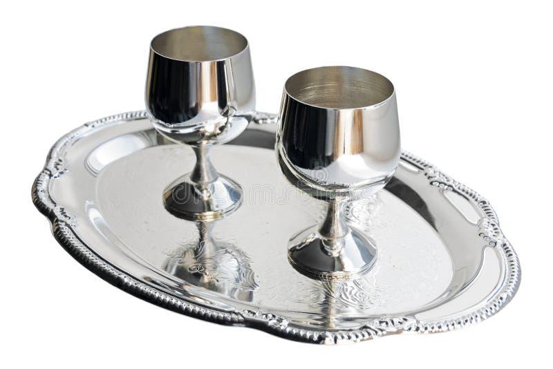 silver ware arkivfoton