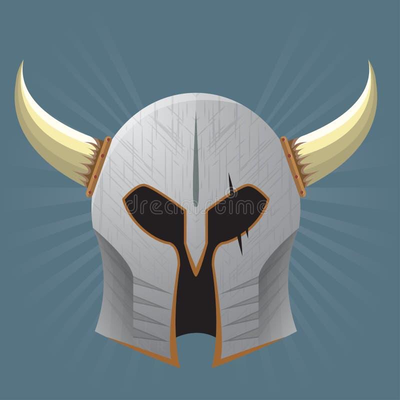 Download Silver Warrior Helmet stock photo. Image of emblem, legend - 33988172