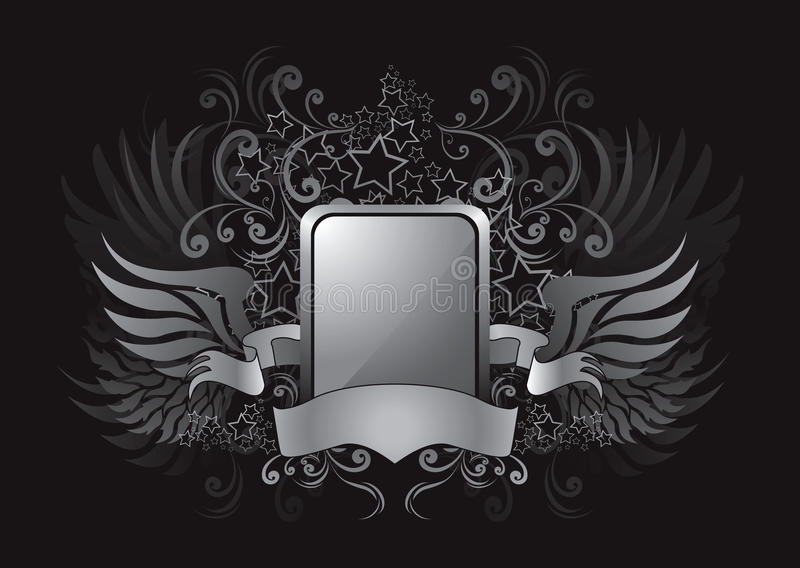 Download Silver Wings Royalty Free Stock Photo - Image: 20676045
