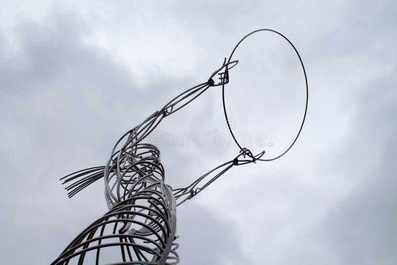 Silver Wire Art Free Public Domain Cc0 Image
