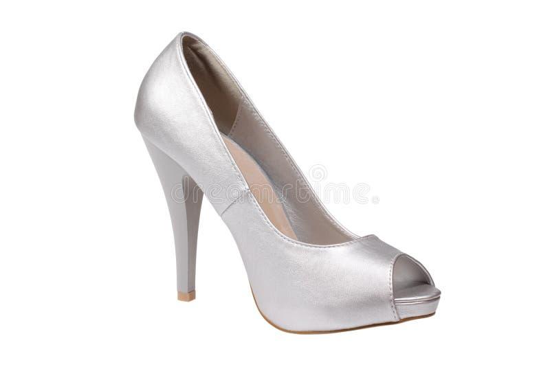 Download Silver Women's Heel Shoe Stock Photos - Image: 25948663