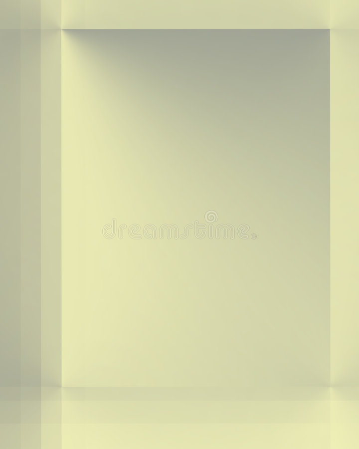 Silver Yellow Shimmer royalty free illustration