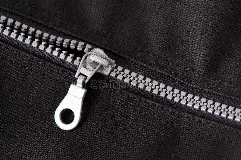 Download Silver zipper stock photo. Image of creative, card, decorative - 10964026