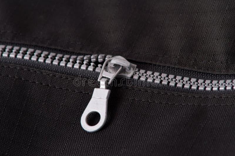 Silver zipper