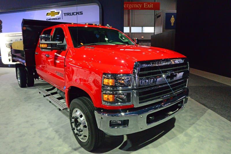 2020 Silverado S500 HD Truck stock image