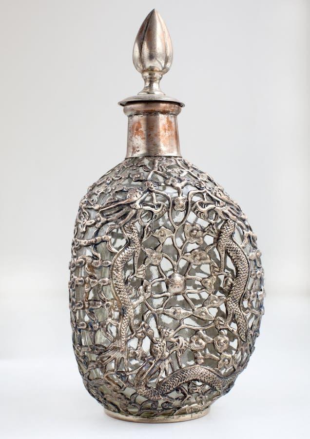 Silvercarafe imagem de stock