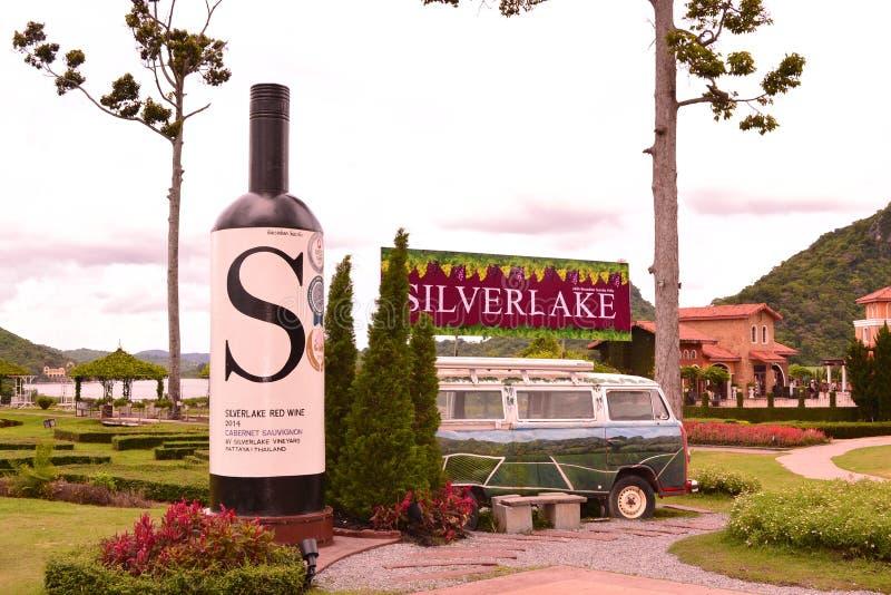 Silverlake芭达亚在泰国2018年 免版税库存图片