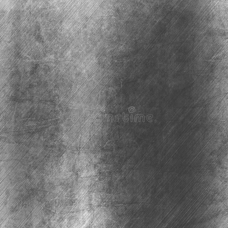 Silvermetalltextur vektor illustrationer