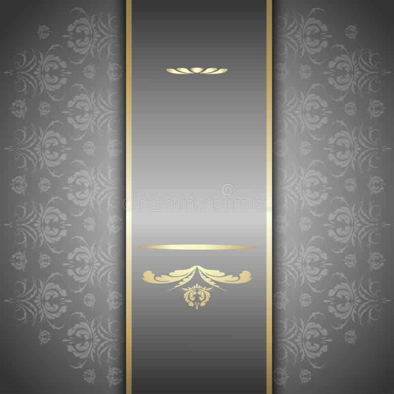 Silvermodell royaltyfri illustrationer