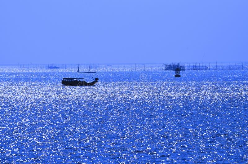 Silversea-view stock image
