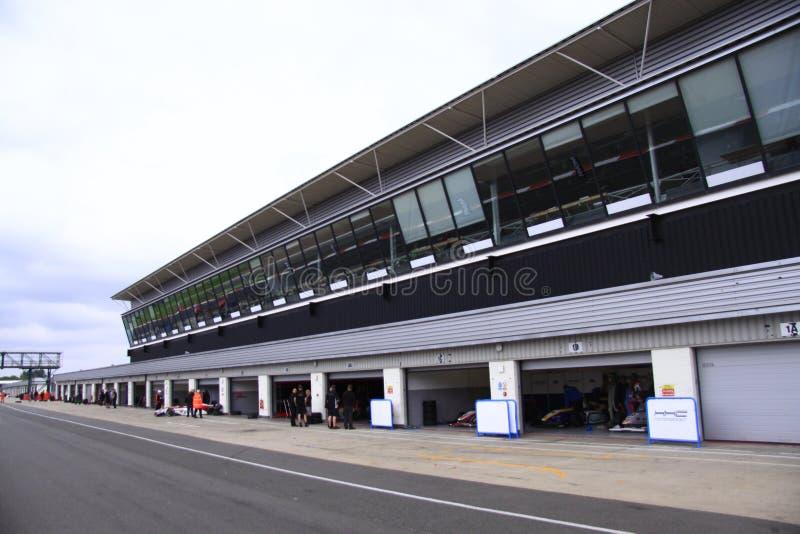 Silverstone Cicuit, Anglia obraz royalty free