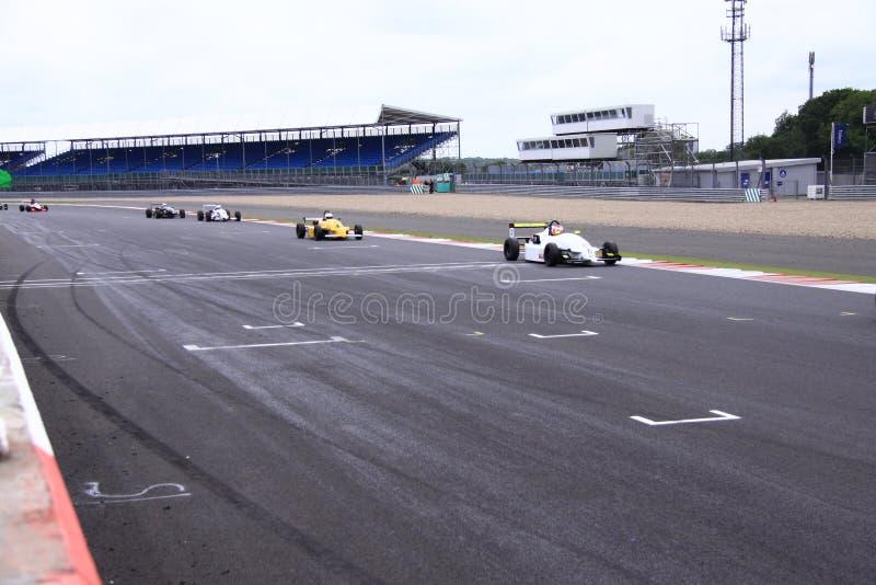 Silverstone Cicuit, Inglaterra fotos de stock