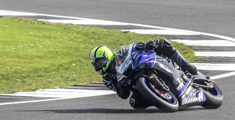 Silverstone motocyklu Ścigać się zdjęcie royalty free