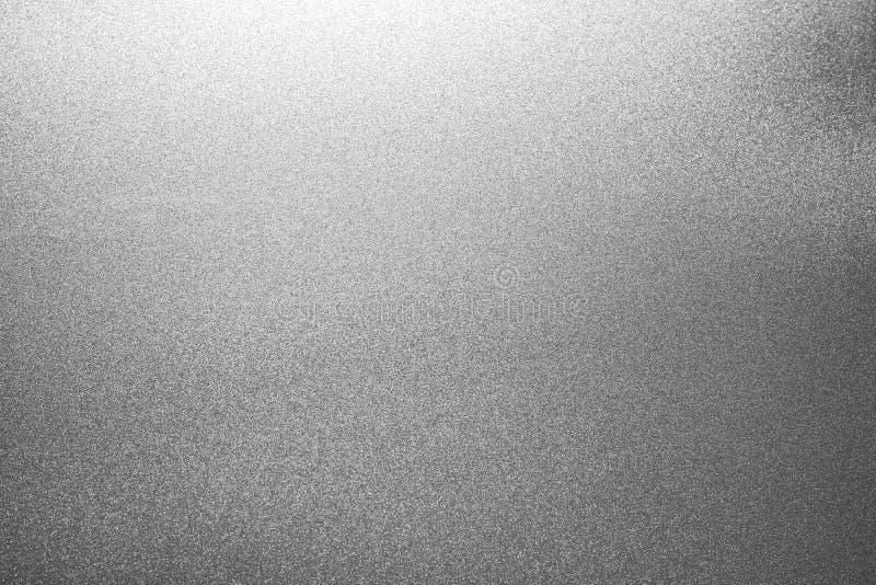 Silvertexturbakgrund Papper bl?nker material arkivfoton