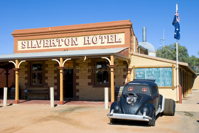 silverton гостиницы стоковое фото rf