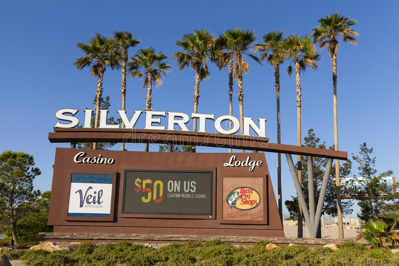 Download Silverton Casino Sign In Las Vegas, NV On May 18, 2013 Editorial Photo - Image: 31090296