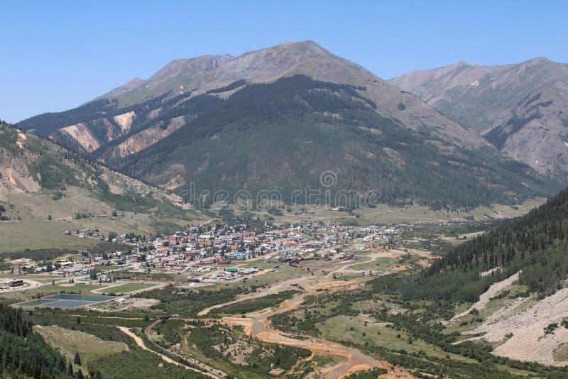 Silverton, Colorado immagine stock libera da diritti
